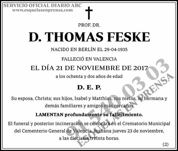 Thomas Feske
